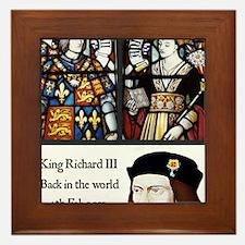 King Richard III Framed Tile