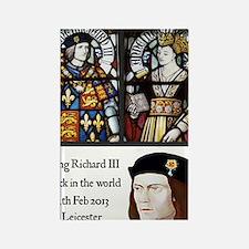 King Richard III Rectangle Magnet