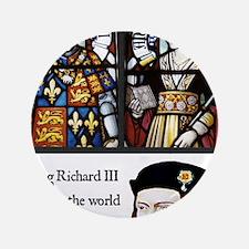 "King Richard III 3.5"" Button"