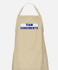 Team CONDIMENTS BBQ Apron