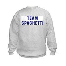 Team SPAGHETTI Sweatshirt