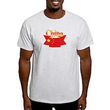 China flag ribbon T-Shirt