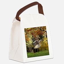 Appalachian Trail Bridge Canvas Lunch Bag