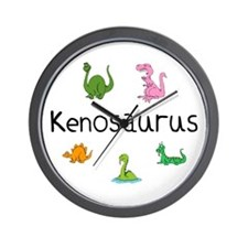 Kenosaurus Wall Clock