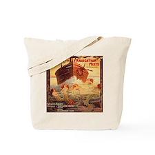 Vintage Mermaids Boat Tote Bag