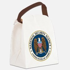 NSA - NATIONAL SECURITY AGENCY Canvas Lunch Bag