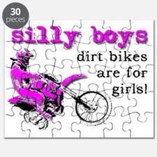 Dirt Bikes Are For Girls Motocross Bike Fun Puzzle
