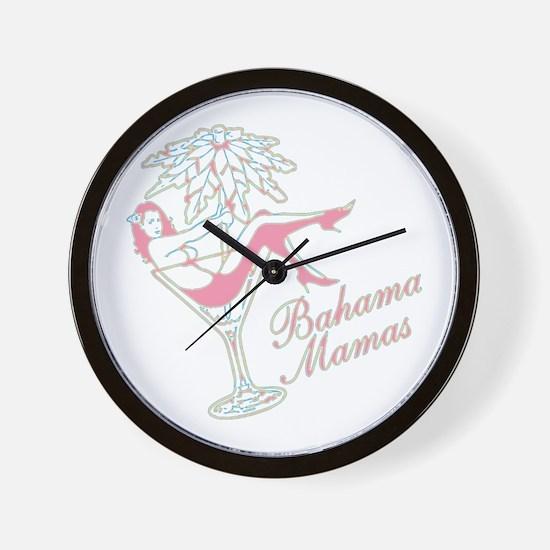 Bahama Mamas Wall Clock