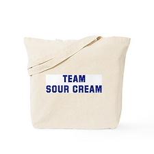 Team SOUR CREAM Tote Bag