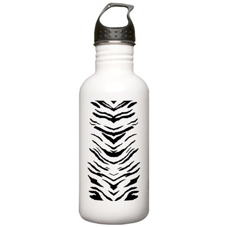 White Tiger Stripes Stainless Water Bottle 1.0L