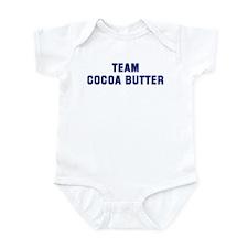 Team COCOA BUTTER Infant Bodysuit