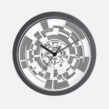 Bits and Bytes Wall Clock