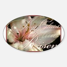 Christ is Risen Decal