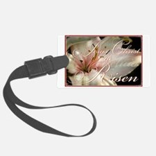 Christ is Risen Luggage Tag