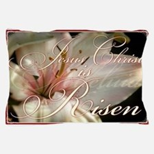 Christ is Risen Pillow Case
