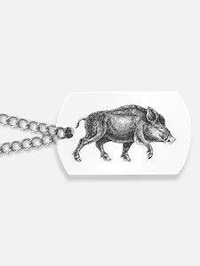Wild Boar Dog Tags