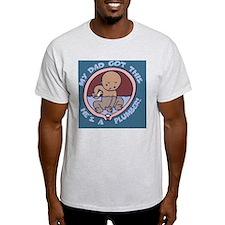 waterbreaker-plumber-BUT T-Shirt