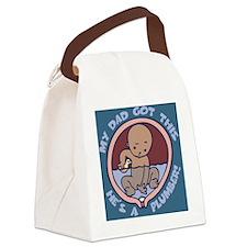 waterbreaker-plumber-PLLO Canvas Lunch Bag