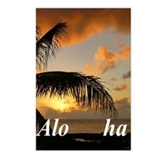 Sunset North Shore Oahu Postcards (Package of 8)
