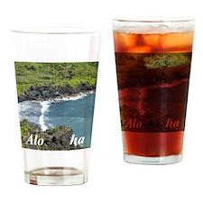 Black Sands Beach Drinking Glass