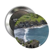"Black Sands Beach 2.25"" Button"
