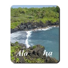 Black Sands Beach Mousepad