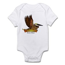 Louisiana Pelican Infant Bodysuit