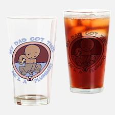 waterbreaker-plumber-DKT Drinking Glass
