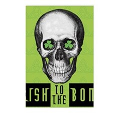 Irish to the bone Postcards (Package of 8)