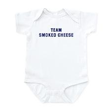 Team SMOKED CHEESE Infant Bodysuit