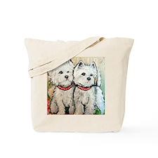 West Highland Terrier Spring Tote Bag