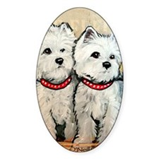 West Highland Terrier Spring Decal