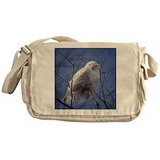 Snowy White Owl Messenger Bag