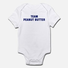 Team PEANUT BUTTER Infant Bodysuit