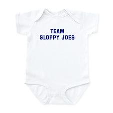 Team SLOPPY JOES Infant Bodysuit