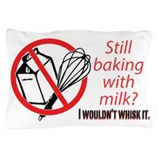 whisk bumpersticker Pillow Case