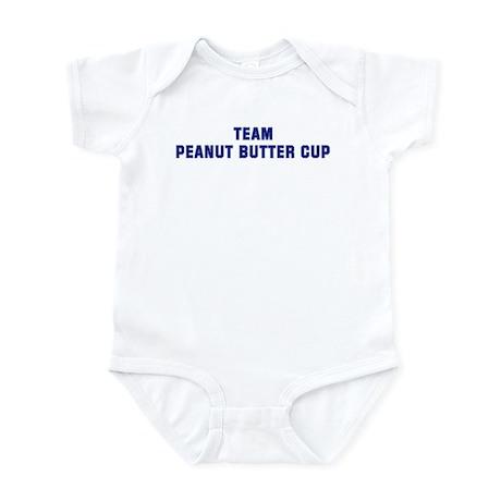 Team PEANUT BUTTER CUP Infant Bodysuit
