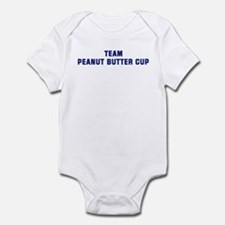 Team PEANUT BUTTER CUP Infant Bodysuit