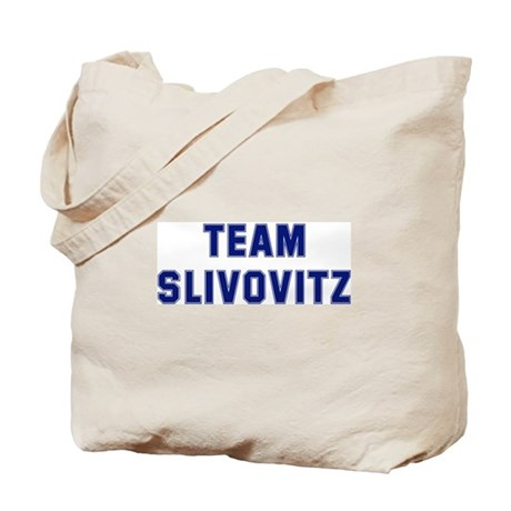 Team SLIVOVITZ Tote Bag