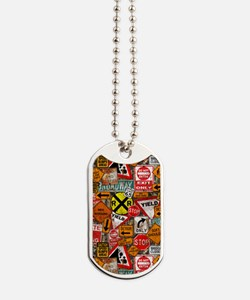 Street Signs Dog Tags