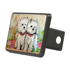 Spring Westies Hitch Cover