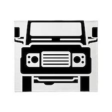 Land Rover illustration Throw Blanket