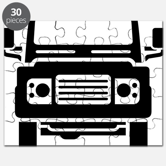 Land Rover illustration Puzzle