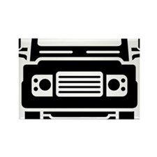 Land Rover illustration Rectangle Magnet