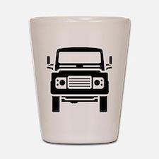 Land Rover illustration Shot Glass