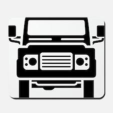 Land Rover illustration Mousepad