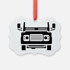 Land Rover illustration Ornament