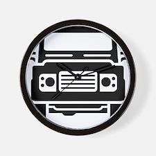 Land Rover illustration Wall Clock