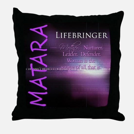 Matara Throw Pillow