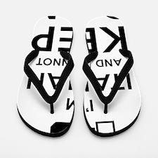 Keep Calm Flip Flops